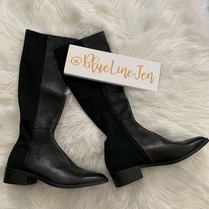 Heath Leather Knee Boots